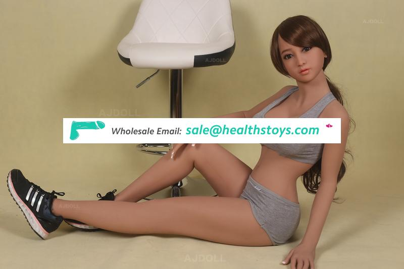 135cm Sporty style Lifelike Real Sex Doll, Full Size Silicone with skeleton Love Doll, Oral Vagina Pussy Anal Adult Doll