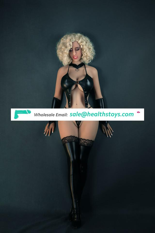 163cm Silicone Sex Doll Real Lifelike Oral Anal Vagina Adult Sex Toy for Men With Big Boobs