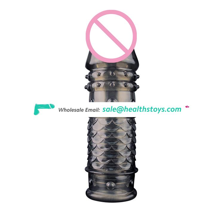 Chinese manufacturers wholesale vibrating penis sleeve and penis sleeve condom