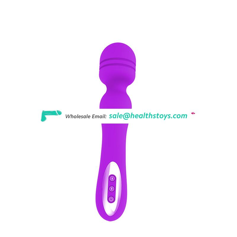 Clitoral Stimulate Massager USB Rechargeable AV Vibrator Sex For Woman