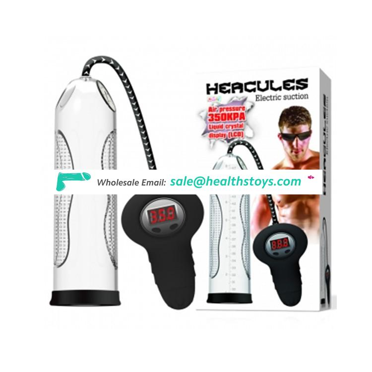 Electric auto penis suck machine pump for male