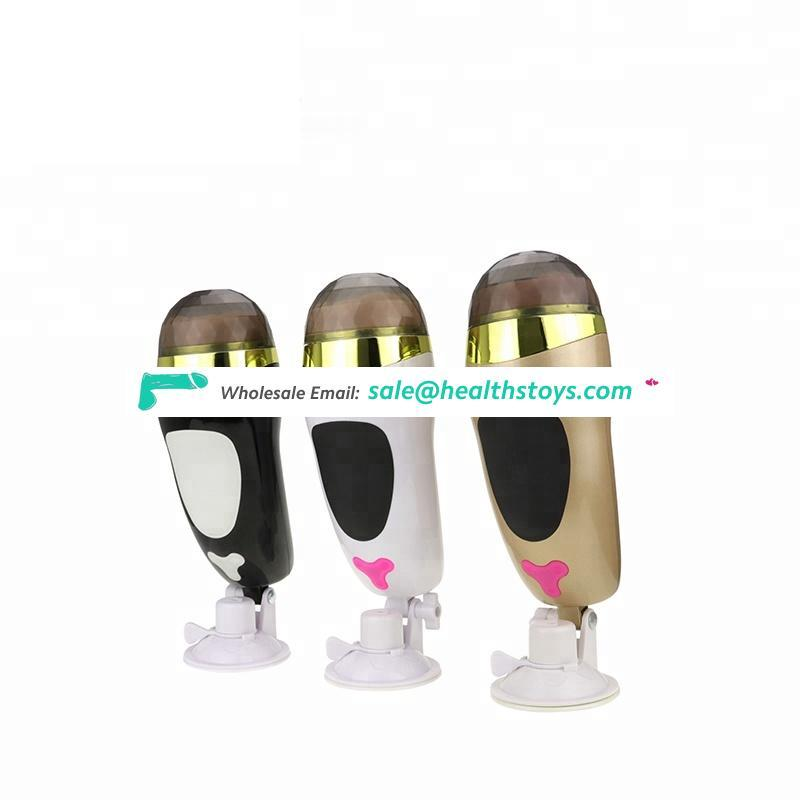 Electric masturbation sex toys for male adult