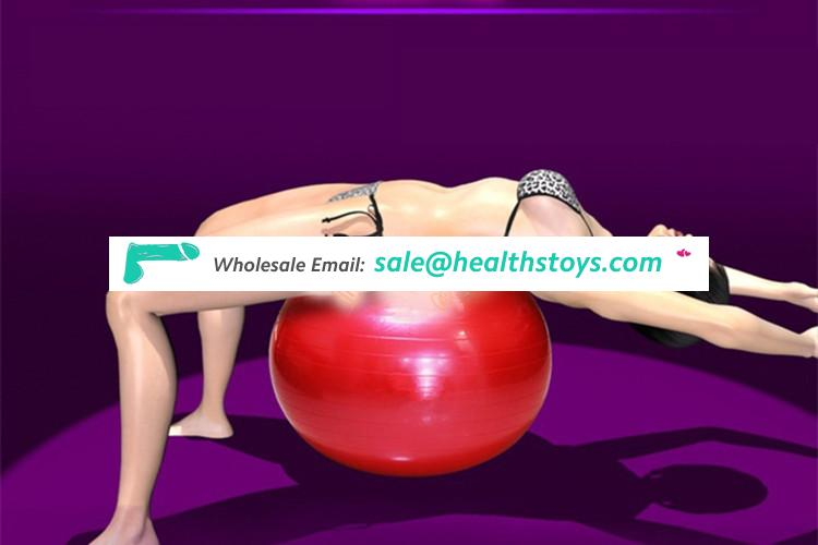 Explosion precision spooll big yoga sex ball sex toy for couples