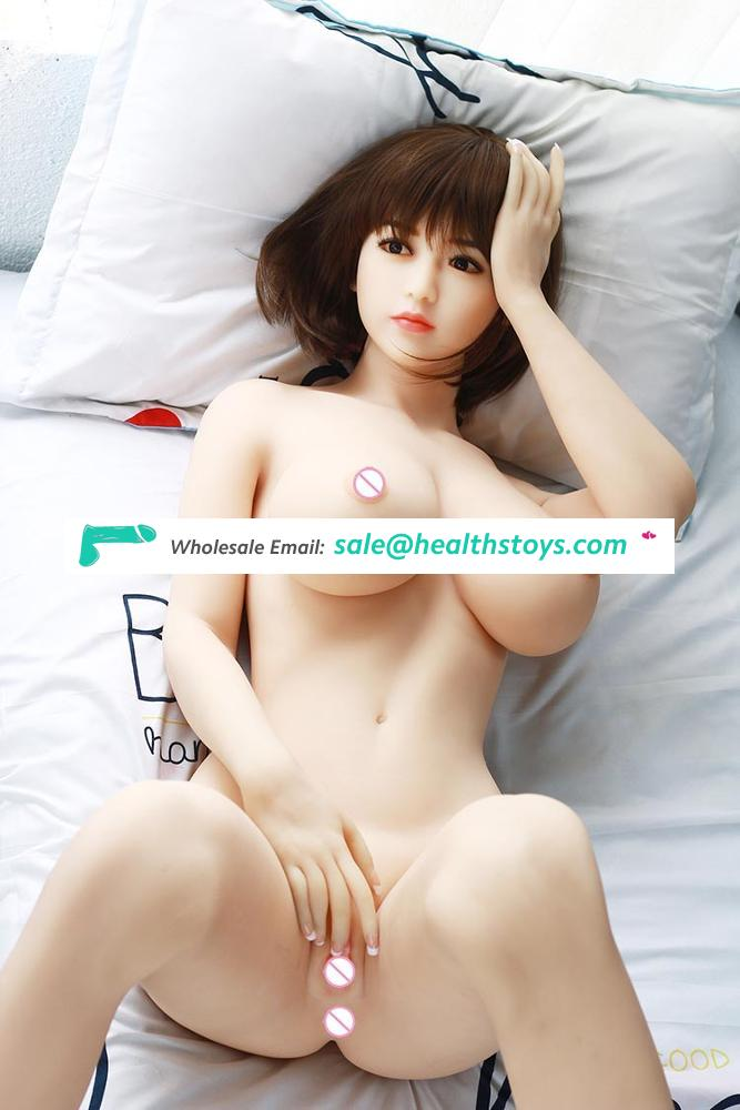 Great Touch Feeling 3.28ft,4.1ft,4.6ft,4.76ft,5.2ft,5.4ft,5.58ft Life Size Solid silicone Sex Doll with 3 Entrances