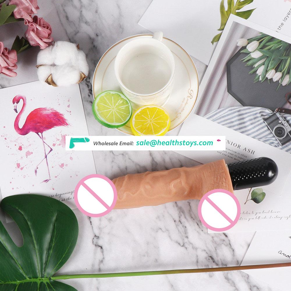 Hot Medical Silicone  Big Size Dildo for Women