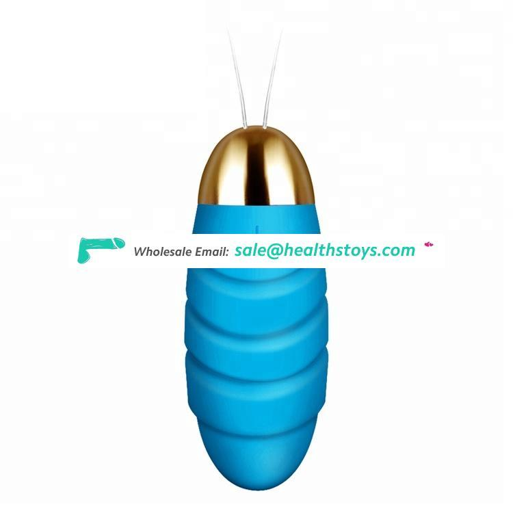 Hot selling USB Charging Silicone 10 Speeds Mobile Controlled Vibrator sex love Egg for woman