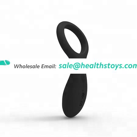 Intense vibration Long time delay Ejaculation silicone adjustable cock ring sex toys for male