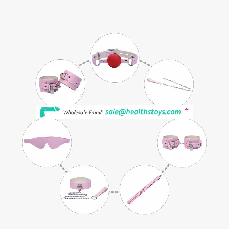Leather spininess design sm handcuffs sex for female