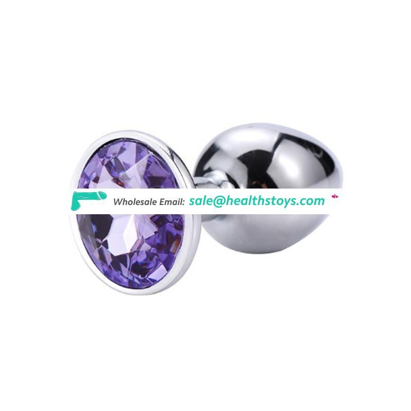 Metal Anal Butt Plug Unisex Sophisticated Sexy Anal Toys Stainless Steel Crystal Jewelry anal butt plug for adults couples