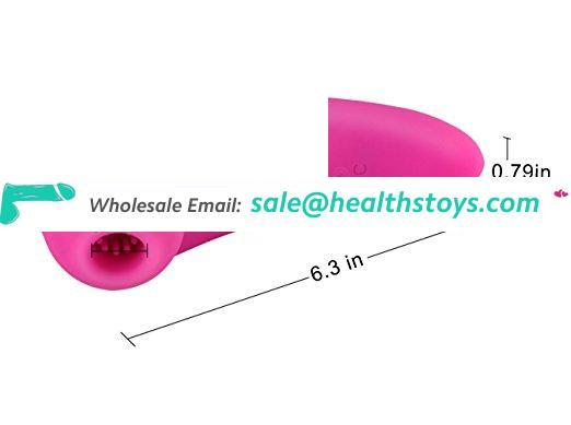 Popular USB charging Silicone 20 Frequency massage clitoris sucking sex vibrator for women