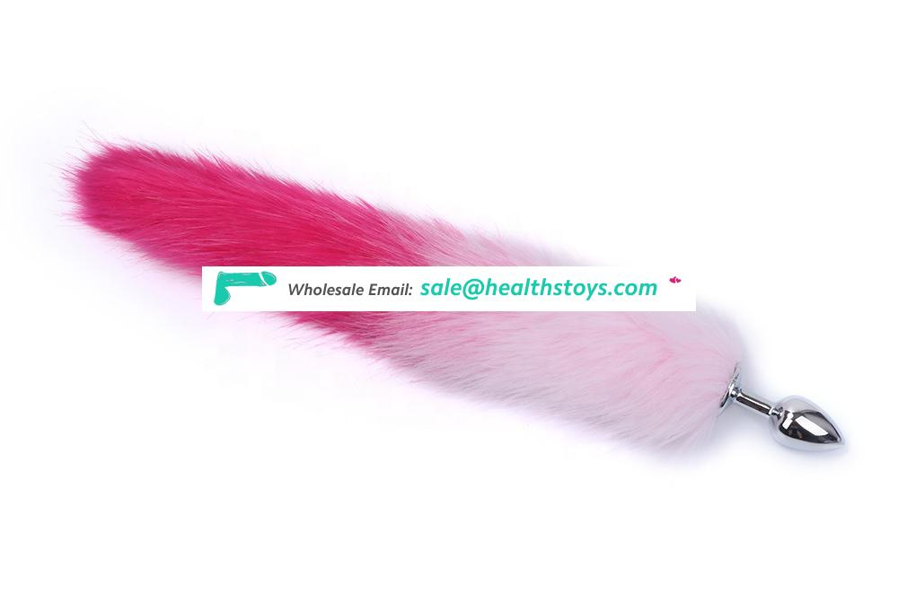 Sex Toys Faux Fox Tail Anal Plug for Women