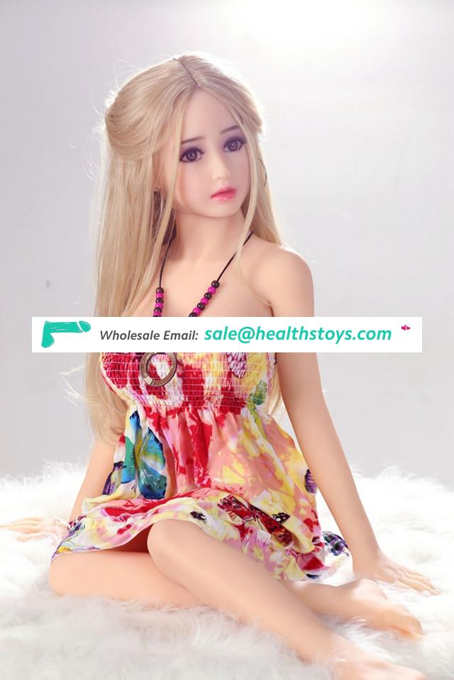 Small size mini sex doll 125CM food grade TPE Material solid sex doll