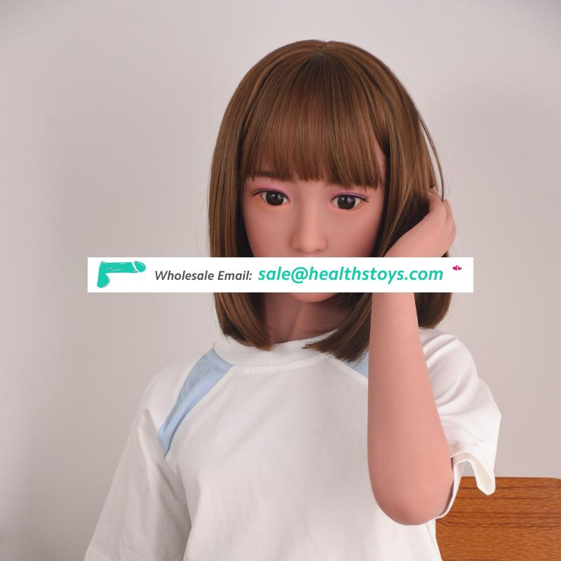 138cm Realistic Silicone Young Japanese flat chest Love Doll Perfect Full 3d Body Inflatable Real Sex Doll For Men