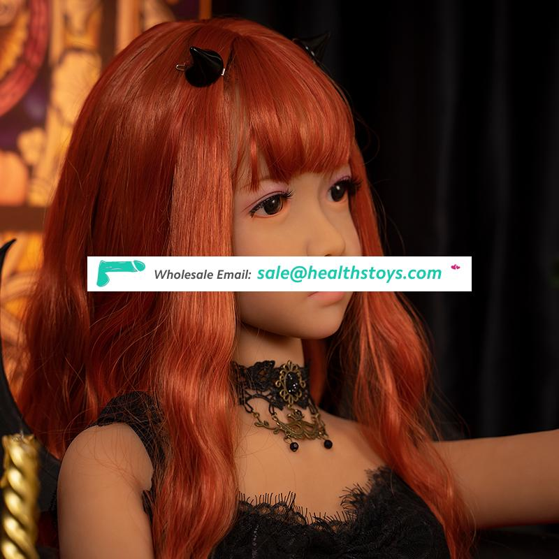 138cm big breast sexy vagina full japanese anime love doll realistic sex toys for men