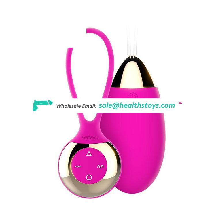 Cheap Stock Electric Heated USB Charge Remote Safe Food Medical Silicone Female Magic Love Ball Vibrating Egg For Women Sex Toys