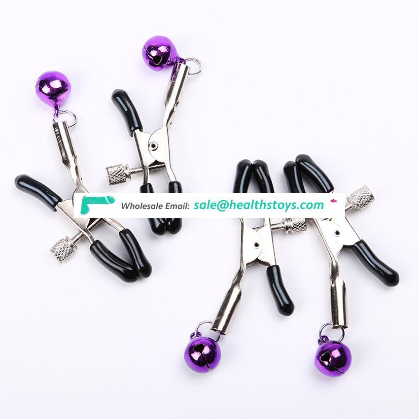 SM Toys Stainless Steel Nipple Clamps for Female