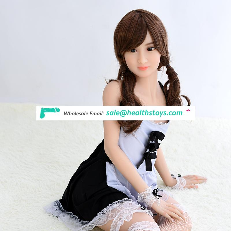 Silicone real feelings ture sex toy mix girls sex doll vagina pussy ass