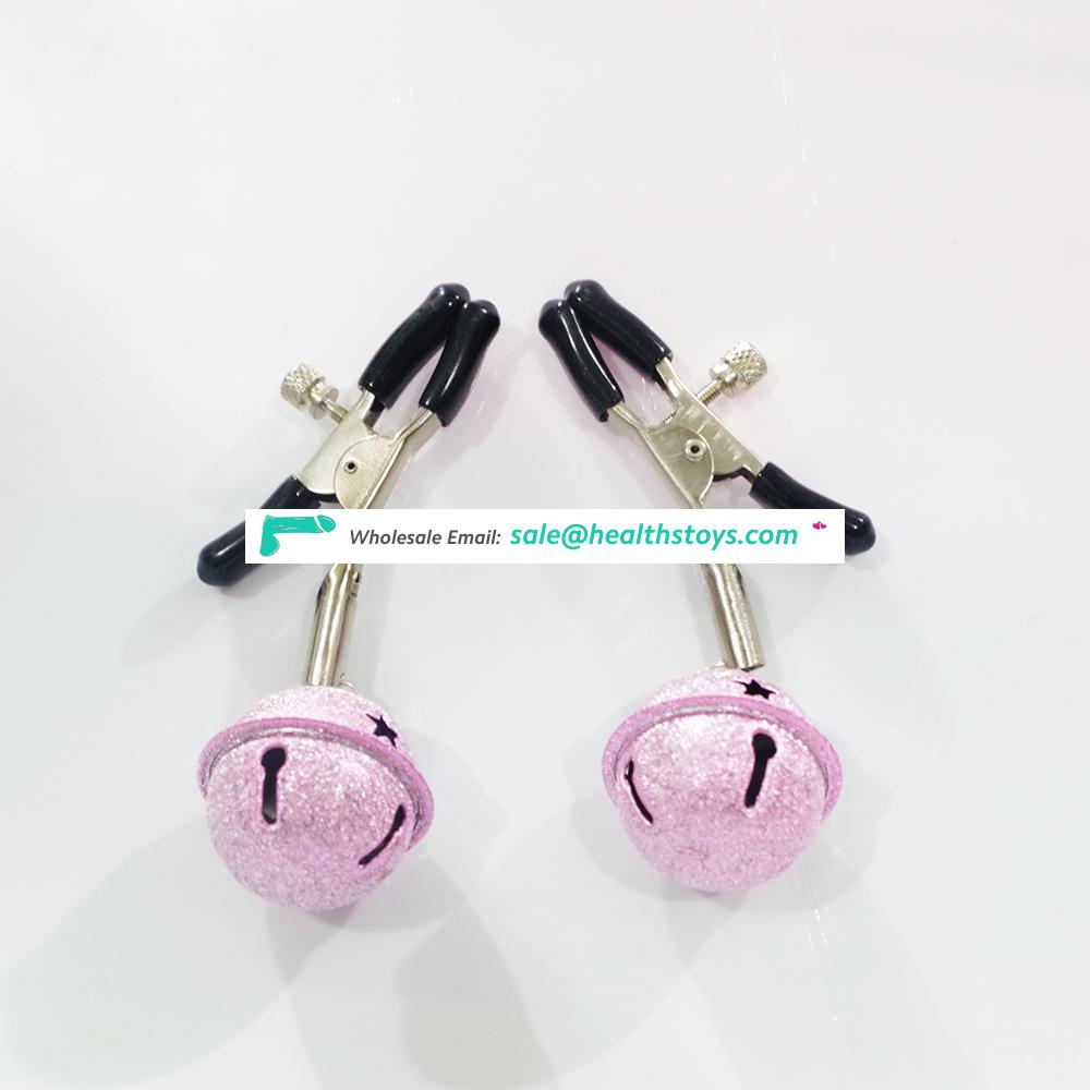 Stainless Adjustable Nipple Clips Flirting for Couple SM Games