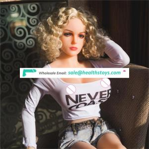 Free shipping 158cm B cup wit hslim waist medical tpe material adult silicon sex dolls for man masturbation
