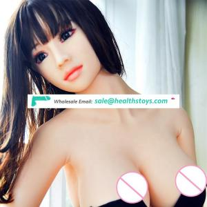 JCS online sex shop toy doll safety silicone material real sex doll for man