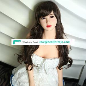 hot sale 165cm small breast long black hair asian face sex young girl love doll online
