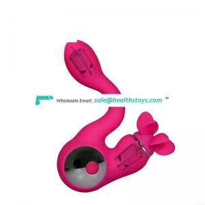 100% waterproof silicone vibrator toys for women couples adults