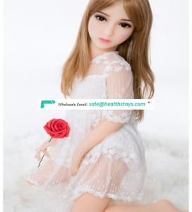 100cm Silicone Sex Doll young girl love doll Small Breast Vaginal  Butt for Men