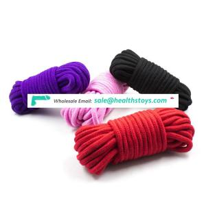 10meters Colorful cotton sex bondage rope fetish SM