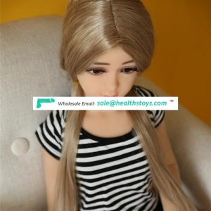 110cm 3.6FT micro mini little girl flat chest small boobs breasts lovely TPE silicone sex love doll