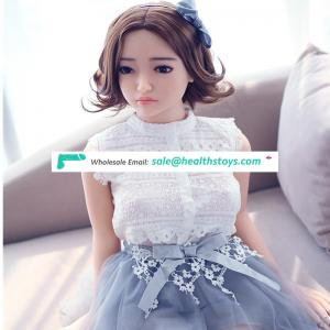 140cm Small Breast Full Body Lifelike hot Sale Silicone Sex Doll for Men F1905