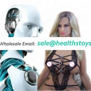 146cm Artificial Intelligent 3D Deep Learning and talking function robot sex doll for men sex vagina anal sex robot