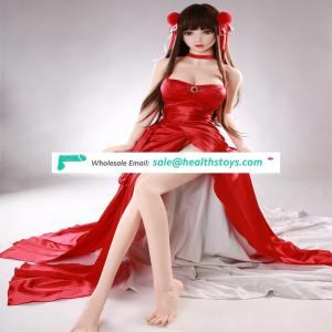 148cm Japanese Anime Small Breast Silicone Teen Sex Doll With Full Metal Skeleton D1909