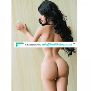 155cm 3D adult young girl sex doll Realistic solid silicon flat chested love doll for men