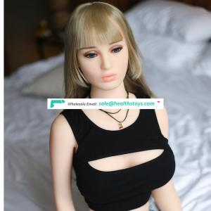 158 cm realistic sexy full solid silicone love doll  chubby sex doll for men male