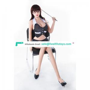 158cm Good Quality Full Size Solid Lifelike Sexy Silicon Sex Doll For Men with Big Breasts