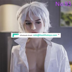 160CM men sex doll young charming men full silicone metal skeleton big penis customized for women and gay