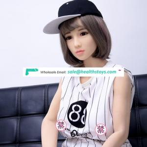 163cm 5.3FT young 18 school girl student peptite cute lovely masturbator TPE silicone love sex doll for men sex cheap price