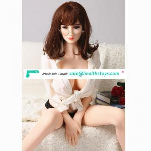 165 cm Asian Robot love Masturbators full size large breasted adult sex toy silicone dolls for Men