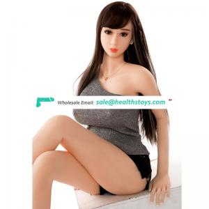 165cm 3D adult Toys real solid silicone young girl 18 sex love doll with Big boobs for Men