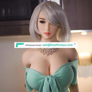170cm Huge Breast Life-size Real Solid Silicone with Metal Skeleton Sex Doll for Men