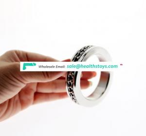 2018 Newest design Stainless Steel Cock Ring Penis Ring Ejaculation Delay