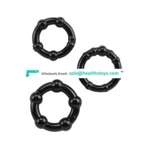 3 Pcs/Set Delay Ejaculation TPR Penis Ring Lock Sex Products Cock Ring for Men