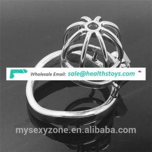 304 stainless steel silver shining chastity male chastity device chastity cage