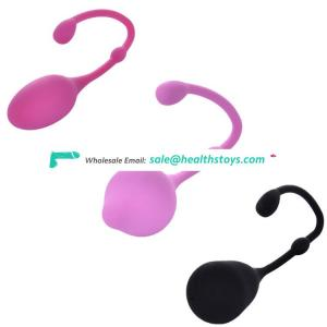 3phases smooth silicone vaginal kegel exercise tightening balls system