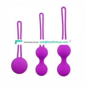3stages ben wa balls for vagina tightening kegel balls exercises for men