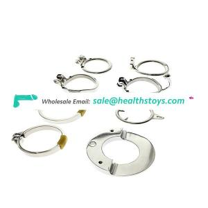 Accessories for chastity cage metal penis base ring