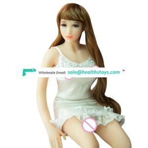 Artificial vagina girl 75cm mini sex doll for man