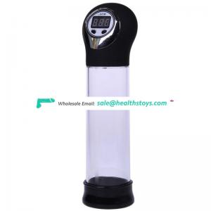 Auto electric penis vacuum pump cylinder male training penis enlargement