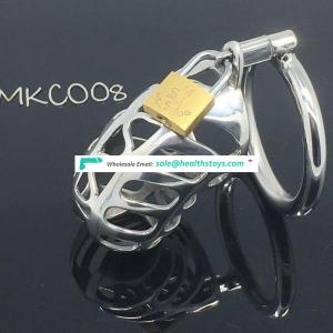 BDSM Chastity Stainless Steel Small Male Chastity device Adult Cock Cage