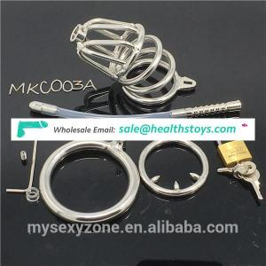 BDSM Sex Toys Male Chastity Cage Device Adult Penis Cage Cock